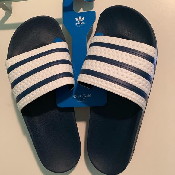 56758a65d adidas Shoes | Brand New Mens Adilette Slide Sandals | Poshmark